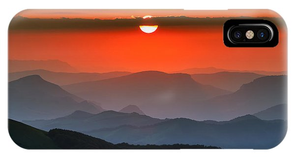 Sunset In Balkans IPhone Case