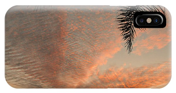 Sunset In Lace IPhone Case