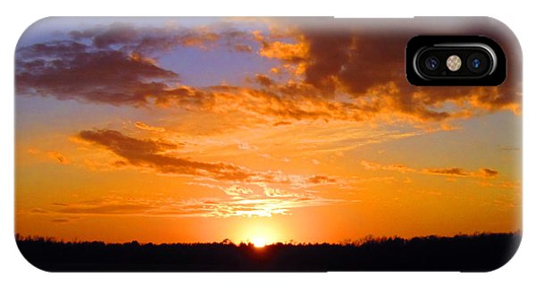 Sunset In Wayne County IPhone Case