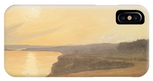 Bournemouth iPhone Case - Sunset by James Hallyar