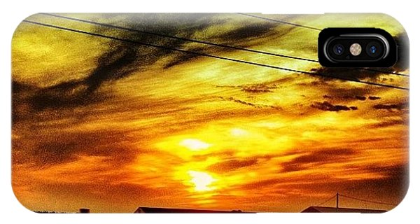 Cloud iPhone Case - Sunset by Katie Williams