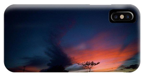 Sunset Leeward Oahu IPhone Case