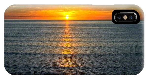 Sunset - Moana Beach - South Australia IPhone Case
