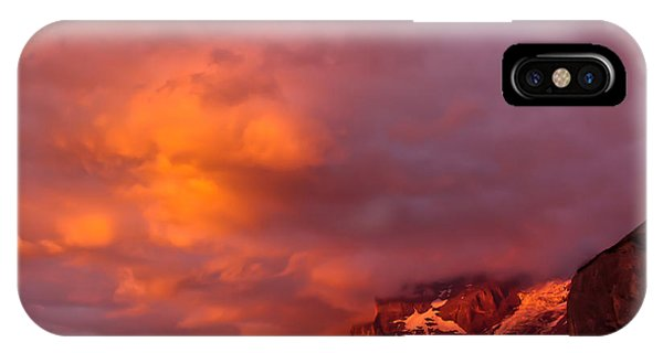 Sunset Murren Switzerland IPhone Case