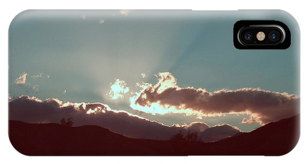 Death Valley iPhone Case - Sunset by Naxart Studio