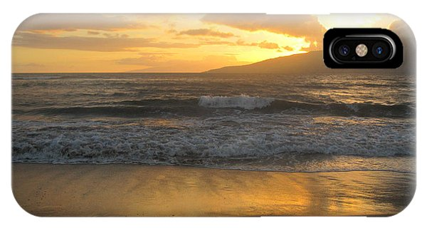 Sunset On Maui IPhone Case