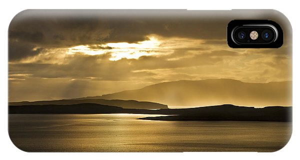 Sunset On Skye IPhone Case
