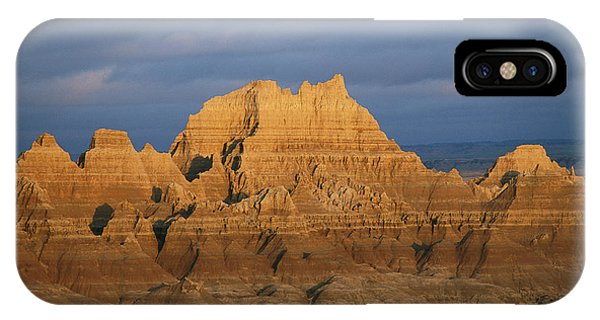 North Dakota Badlands iPhone Case - Sunset On The Claystone Buttes by Annie Griffiths