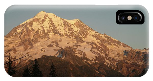 Sunset On The Mountain IPhone Case