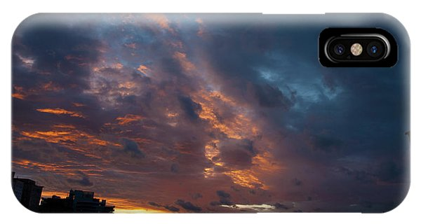 Sunset Over Brooklyn Post Irene IPhone Case