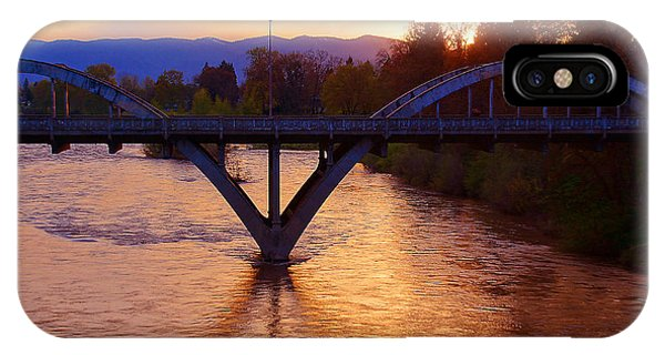 Sunset Over Caveman Bridge IPhone Case