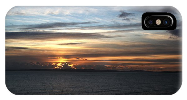 Sunset Over Poole Bay IPhone Case