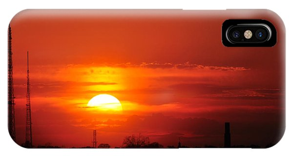 Sunset Over Washington Dc IPhone Case