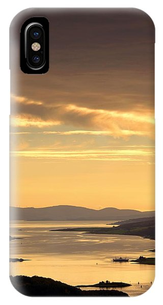 Sunset Over Water, Argyll And Bute IPhone Case