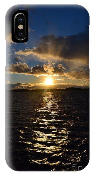 Sunset Over Winnepesaukee IPhone Case