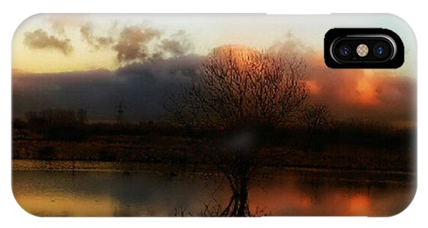View iPhone Case - Sunset Reflections by Abbie Shores