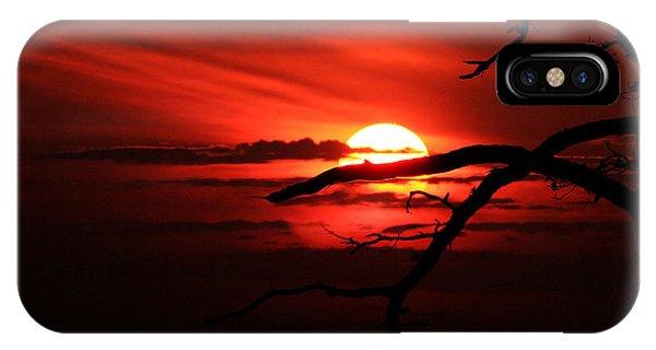 Sunset Zen IPhone Case