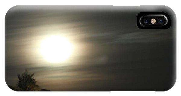 Supermoon II IPhone Case