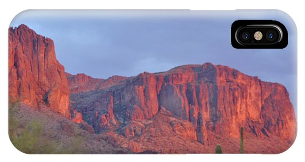 Superstitions After The Rain Phone Case by Patty Descalzi