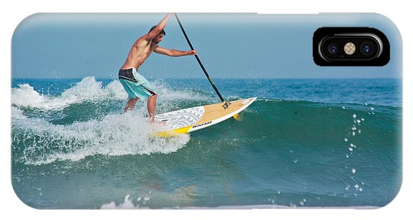 Surfing And Paddling IPhone Case