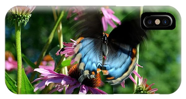 Swallowtail In Motion IPhone Case