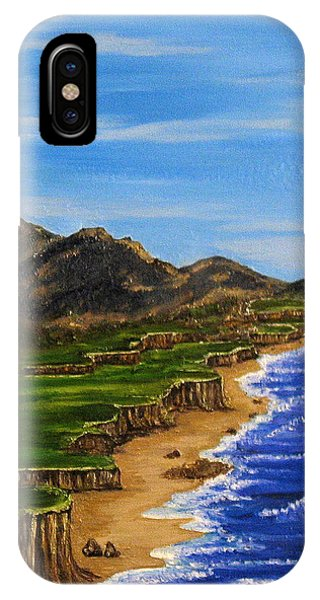 Sylvia's Seascape IPhone Case