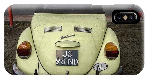 Volkswagen iPhone Case - Symmetry #vw #volkswagen #vintage by Andy Kleinmoedig