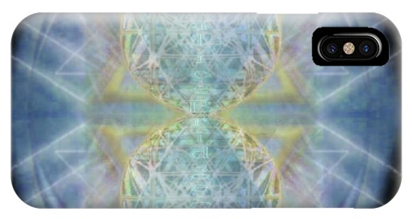 Synthecentered Chalice In Ovoid On Black IPhone Case