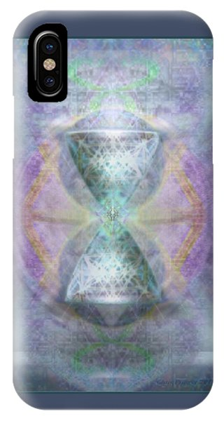 Synthesphered Grail On Caducus Blazed Tapestrys IPhone Case
