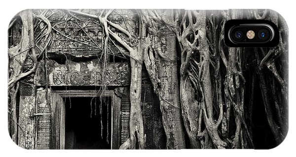 Ta Prohm 01 IPhone Case