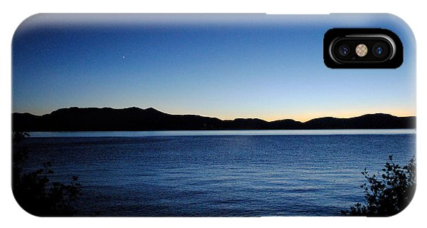 Tahoe Sunset  Phone Case by Sean McGuire