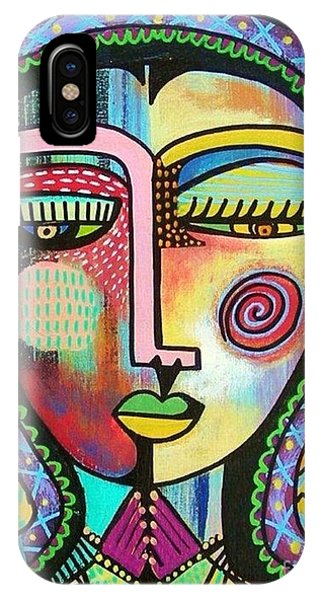 -talavera Virgin Of Guadalupe Protection IPhone Case