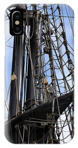 Tall Ship Mast IPhone Case