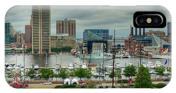 Tall Ships At Baltimore Inner Harbor IPhone Case