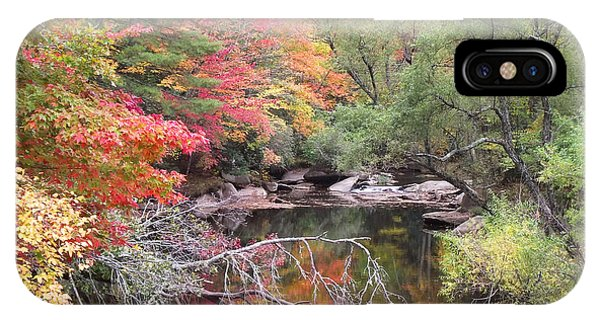 Tanasee Creek In The Fall IPhone Case