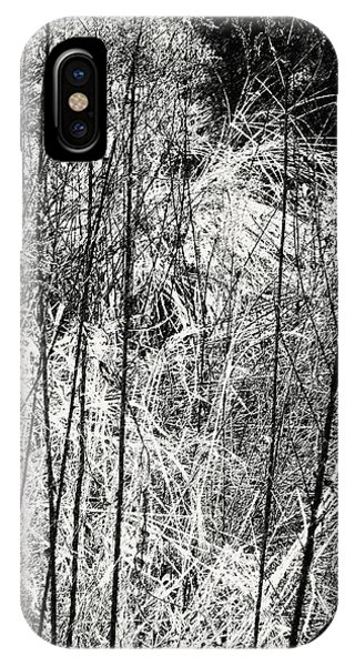 Tangled Weeds 2 IPhone Case