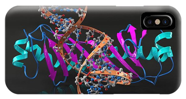 Tata Binding Protein With Dna Phone Case by Laguna Design