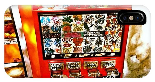 Tattoo Vending Machine. #varna #tattoo Phone Case by Richard Randall