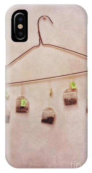 Life iPhone Case - Tea Bags by Priska Wettstein