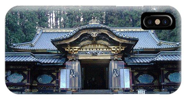 Temple iPhone Case - Temple Building by Naxart Studio
