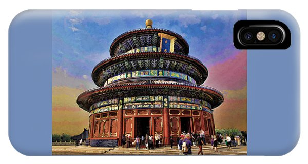 Temple Of Heaven - Beijing China IPhone Case