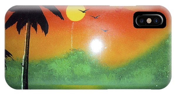 Tequila Sunrise IPhone Case