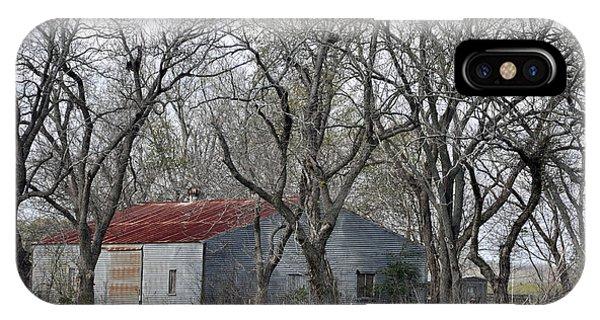 Texas Barn Phone Case by Teresa Blanton