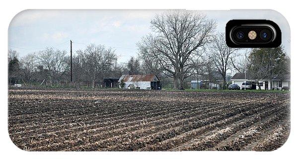 Texas Farmland Phone Case by Teresa Blanton