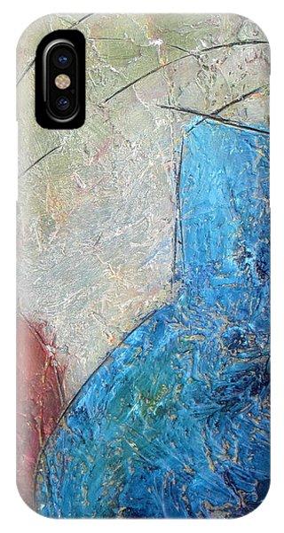 Textured Canvas Urns IPhone Case