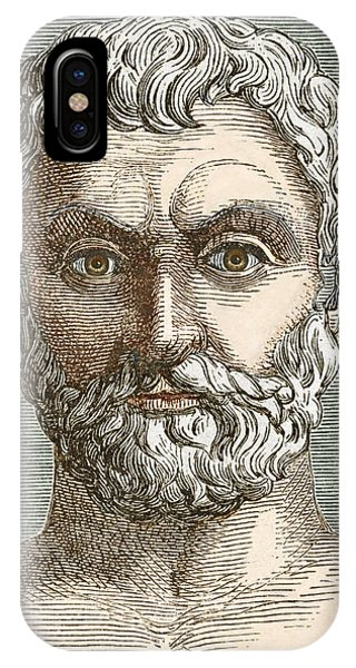Thales, Ancient Greek Philosopher Phone Case by Sheila Terry