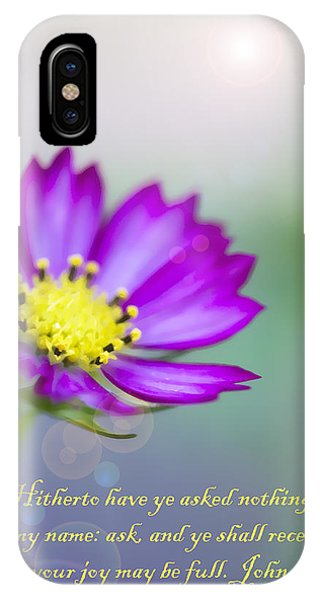 That Your Joy May Be Full IPhone Case