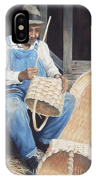 The Basket Maker ...sold  IPhone Case