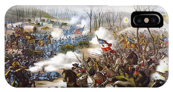 Allison iPhone Case - The Battle Of Pea Ridge, by Granger