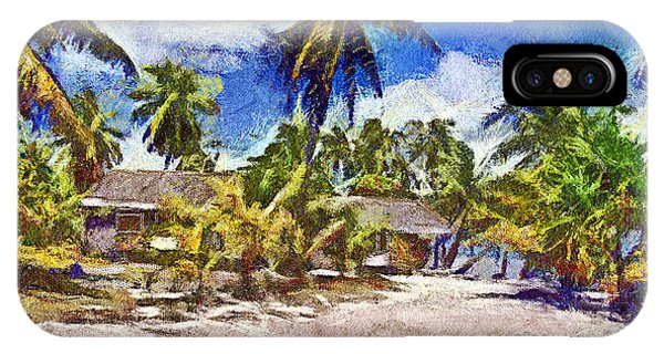 The Beach 02 Phone Case by Vidka Art